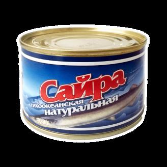 """Сайра натуральная """"Преображение"""" 250гр"""
