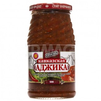 """Аджика Кавказская """"Стоевъ"""" 500гр"""