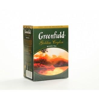 "Чай ""Greenfield"" Golden Ceylon черный 100гр"