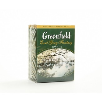 "Чай ""Greenfield"" Earl Grey с бергамотом 100гр"