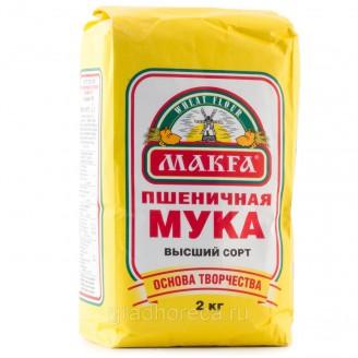 """Мука пшеничная """"MAKFA"""" 2кг"""