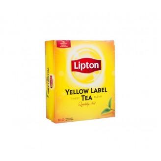 """Чай """"Lipton"""" черный (100 пакетов)"""