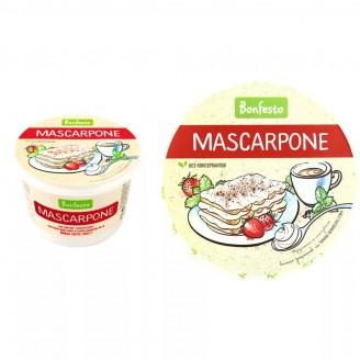 Сыр Mascarpone Bonfesto 78%  500гр