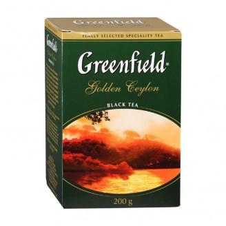 "Чай ""Greenfield"" Golden Ceylon черный 200гр"
