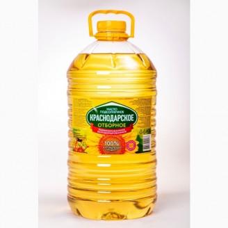 """Масло подсолнечное """"Кубанское"""" Элитное 5л"""