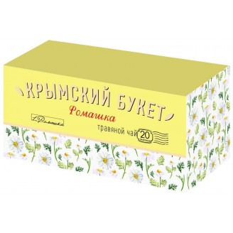 """Чай """"Крымский букет"""" ромашка (20 пакетов)"""