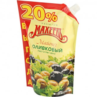"""Майонез оливковый """"Махеевъ"""" 800мл"""
