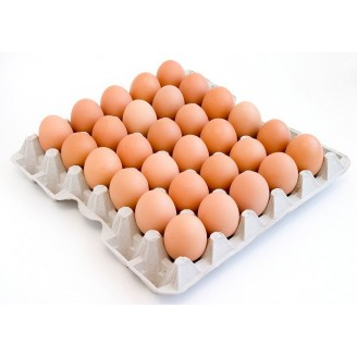 Яйцо куриное пищевое С1 (фас по 30шт/в упак 360шт)