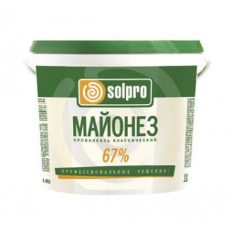 "Майонез 67% ""SOLPRO"" Провансаль 3л (2,88кг)"