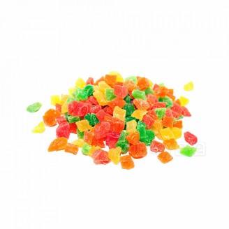 Цукаты кубики цветные 100гр