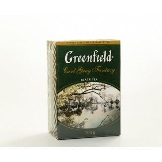 "Чай ""Greenfield"" Earl Grey с бергамотом 200гр"