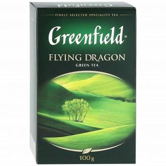 """Чай """"Greenfield"""" Flying Dragon зеленый 100гр"""