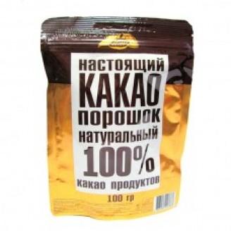 Какао порошок 100% 100гр