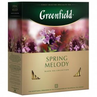 """Чай """"Greenfield"""" Spring Melody (100 пакетов)"""